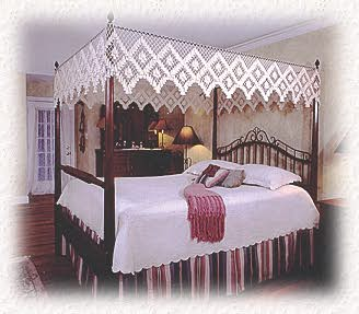 Heirloom Fishnet Bed Canopies tasseled fishnet bed canopies from North Carolina & Heirloom Fishnet Bed Canopy of North Carolina