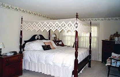 Available for flat or arch canopy bed. : fishnet canopy - afamca.org